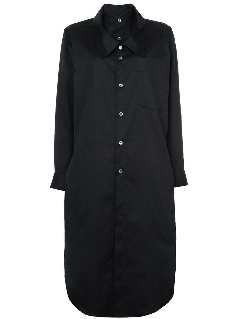 NOCTURNE #22 NOCTURNE #22 WOMEN DOUBLE FRONT SHIRT DRESS