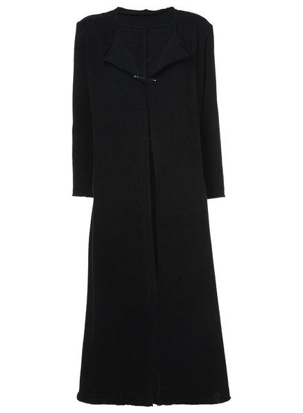 NOCTURNE #22 NOCTURNE #22 WOMEN RAW EDGE LONG DRESS