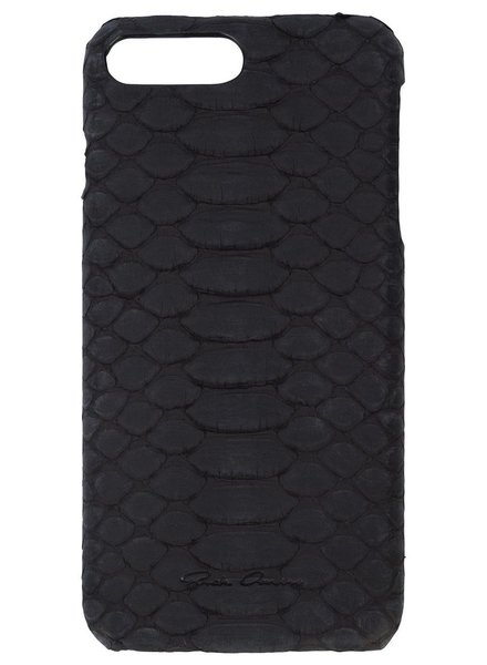RICK OWENS RICK OWENS PYTHON LEATHER IPHONE 7 PLUS CASE