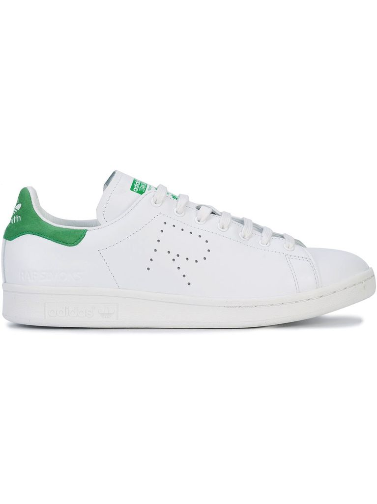ADIDAS MENS RAF SIMONS STAN SMITH WHITE/GREEN