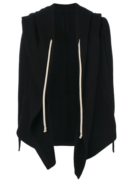 RICK OWENS DRKSHDW DRKSHDW WOMEN HOODED WRAP