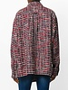 FAITH CONNEXION FAITH CONNEXION WOMEN TWEED OVERSIZE SHIRT