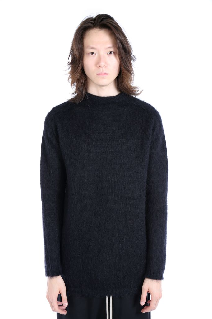 RICK OWENS RICK OWENS MEN OVERSIZED TURTLE NECK SWEATER