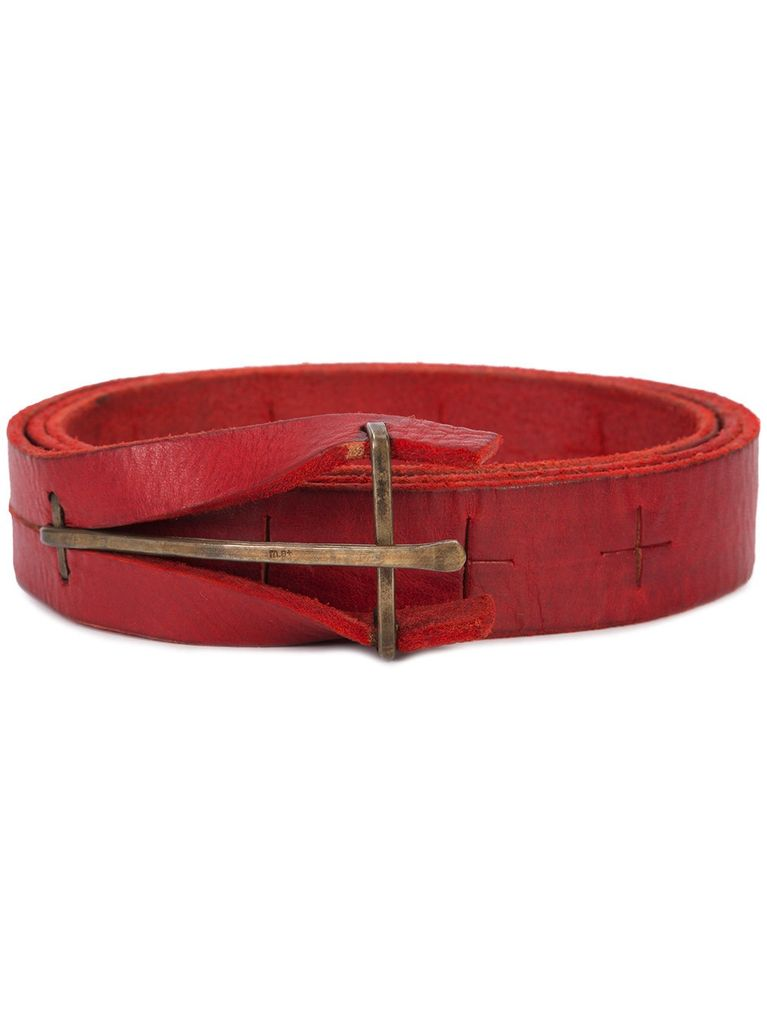 "MA+ MA+ ""Y"" BUCKLE MEDIUM BELT"