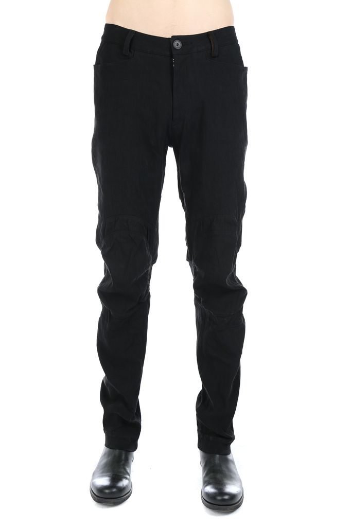 ZIGGY CHEN ZIGGY CHEN MEN PATCH WORK SLIM PANTS