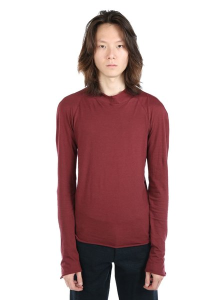 MA+ MA+ MEN RAGLAN LONG SLEEVE ROUND NECK TOP
