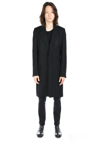 ANN DEMEULEMEESTER ANN DEMEULEMEESTER MEN SINGLE COAT