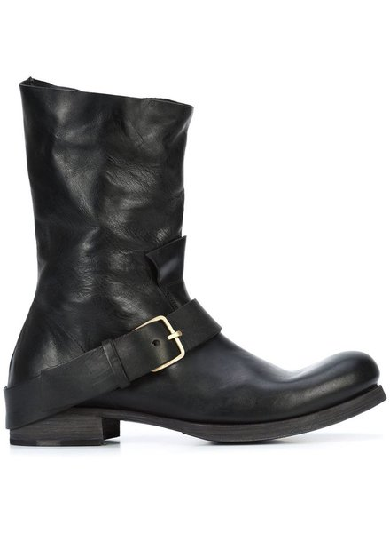 MA+ MA+ MEN HORSE LEATHER TALL BUCKLE BOOT