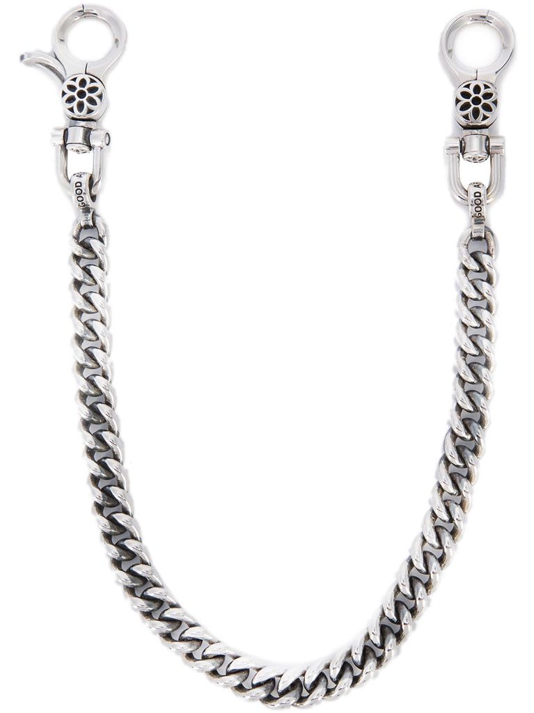 GOOD ART HLYWD GOODART HLYWD CURB CHAIN #6 WALLET CHAIN WITH BIG EYE CLIPS