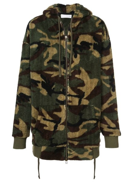FAITH CONNEXION FAITH CONNEXION MEN CAMO HOODIE