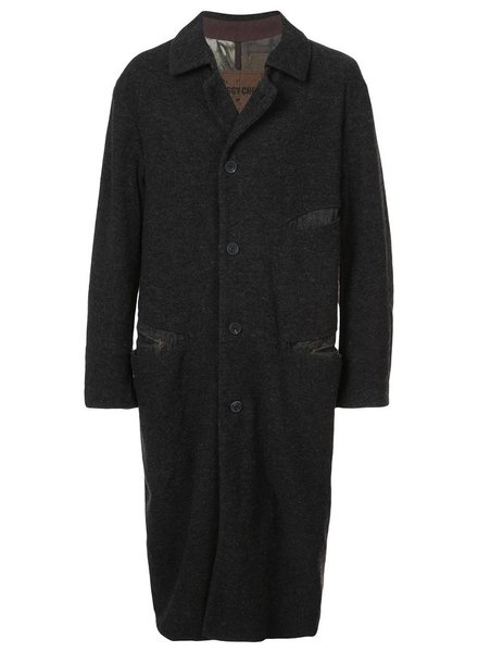 ZIGGY CHEN ZIGGY CHEN MEN MULTI POCKET OVERCOAT