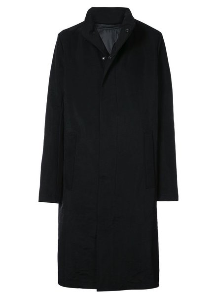 11 BY BORIS BIDJAN SABERI 11 BY BORIS BIDJAN SABERI MEN OUTDOOR COAT WITH REMOVABLE LINING