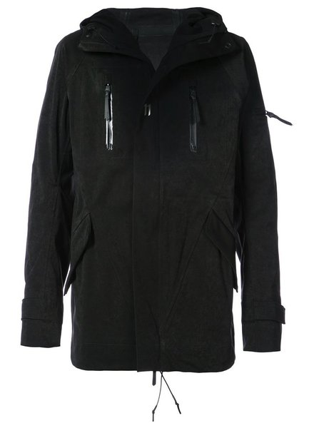 11 BY BORIS BIDJAN SABERI 11 BY BORIS BIDJAN SABERI MEN LOGO TYPE OUTDOOR JACKET
