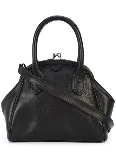 Y'S Y'S WOMEN ROUND CLASP BAG WITH STRAP