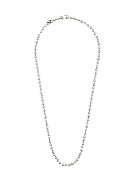 CODY SANDERSON CODY SANDERSON STAINLESS STEEL BALL CHAIN 24'' W/ C*S TAGS