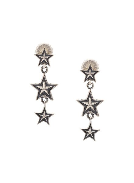 CODY SANDERSON CODY SANDERSON 3 STAR DANGLING EARRINGS