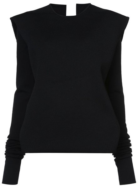RICK OWENS RICK OWENS WOMEN CRATER DOUBLE LAYERED TOP