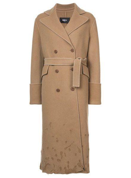 YANG LI YANG LI WOMEN DBF TRENCH COAT