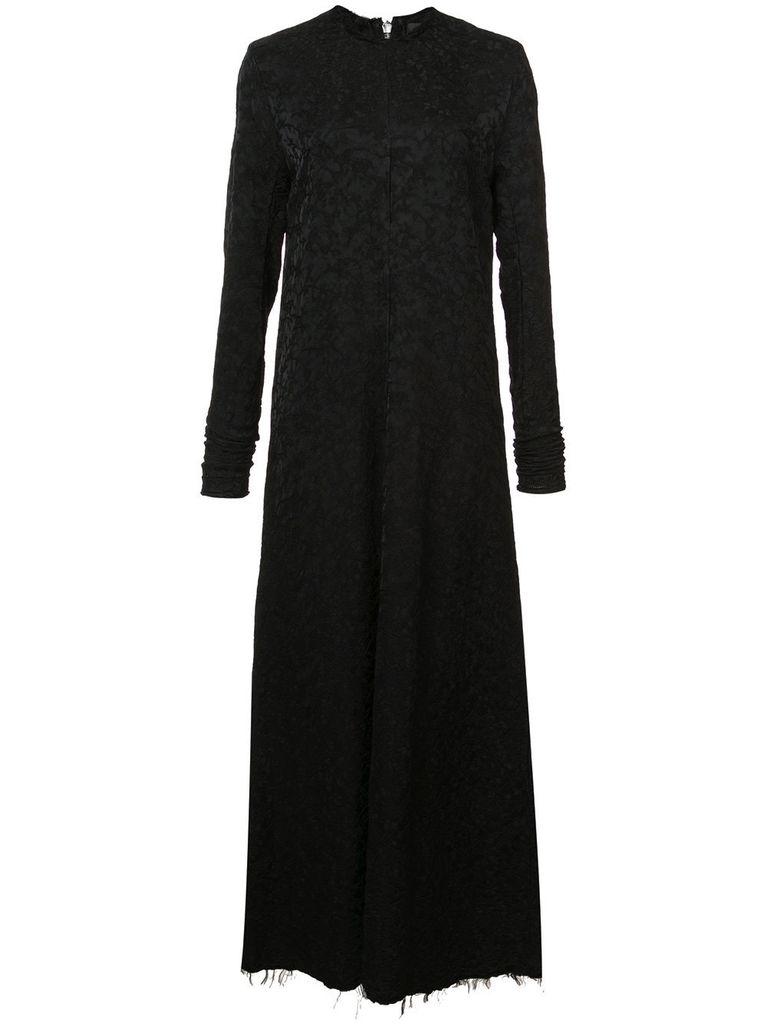 YANG LI YANG LI WOMEN LONGSLEEVE ZIPPED DRESS