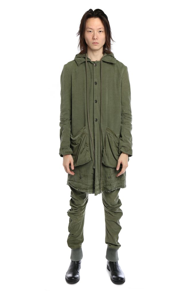 GREG LAUREN GREG LAUREN MEN ARMY TENT MODERN ROGUE JACKET