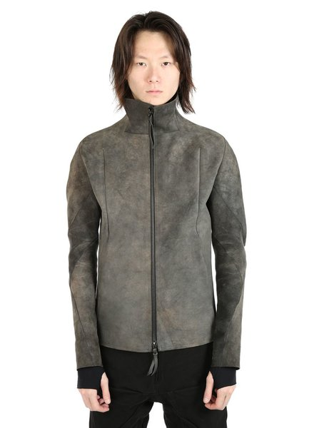 LEON EMANUEL BLANCK LEON EMANUEL BLANCK FORCED LEATHER JACKET