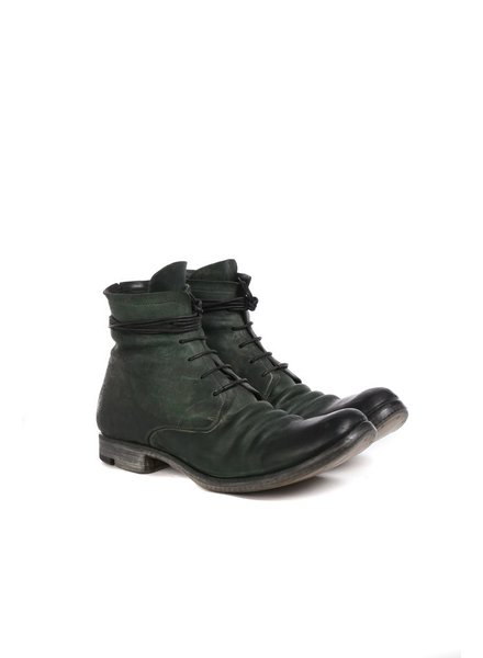 LAYER-0 LAYER-0 MEN REVERSE HORSE CORDOVAN LEATHER TALL BOOTS