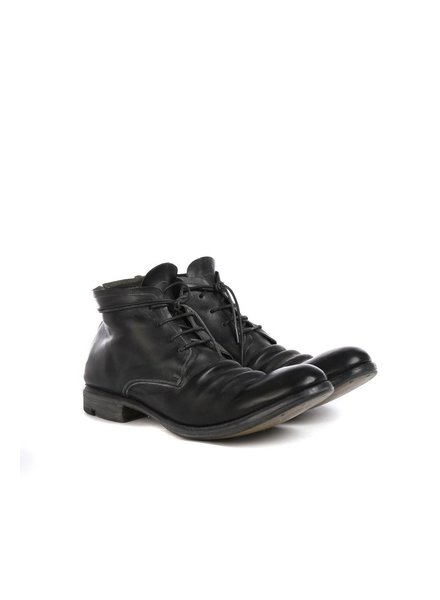 LAYER-0 LAYER-0 MEN HORSE CORDOVAN LEATHER ANKLE BOOT
