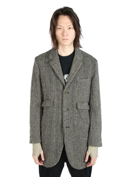 UNDERCOVER UNDERCOVER MEN EXTENDED LINING LONG JACKET