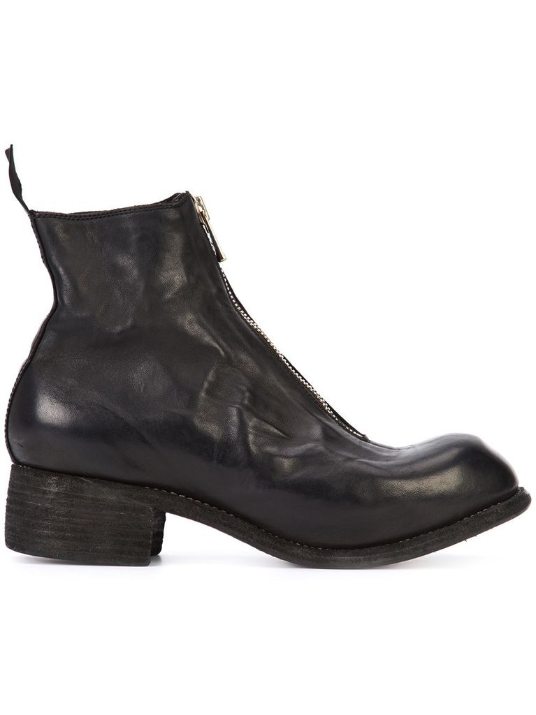 GUIDI GUIDI PL1 WOMEN SOFT HORSE LEATHER FRONT ZIP BOOT