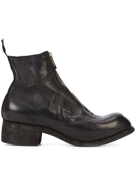 GUIDI PL1 GUIDI MEN HORSE LEATHER FRONT ZIP BOOT