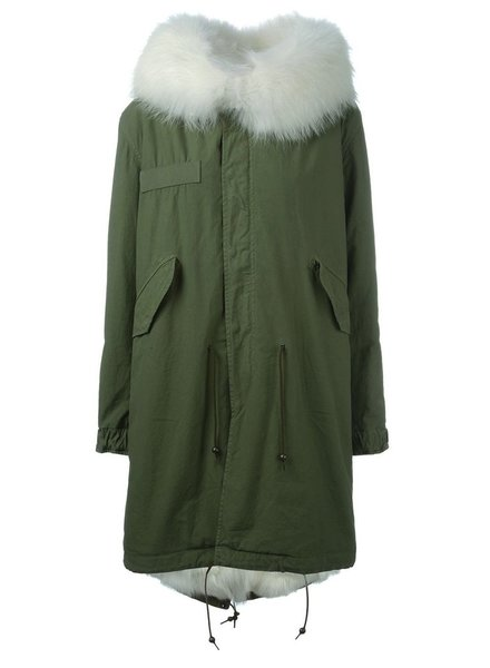 MR AND MRS ITALY MR AND MRS ITALY FOX FUR LINING PARKA