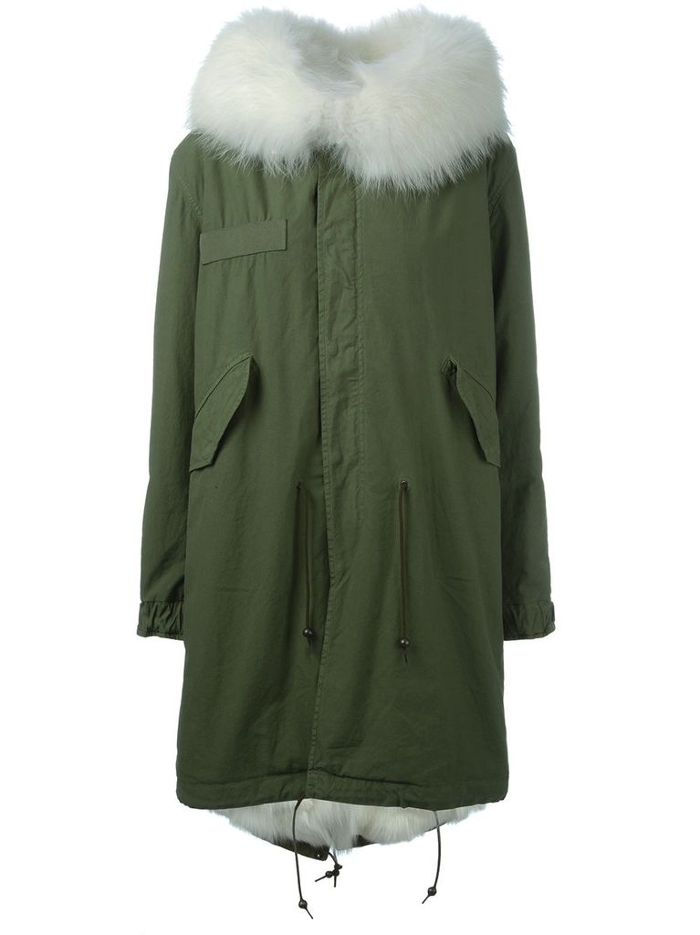 MR & MRS ITALY MR & MRS ITALY FOX FUR LINING PARKA