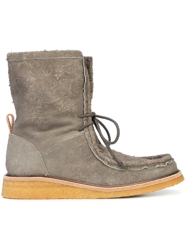 HENDER SCHEME HENDER SCHEME WOMEN SHAGGY LACE UP BOOT