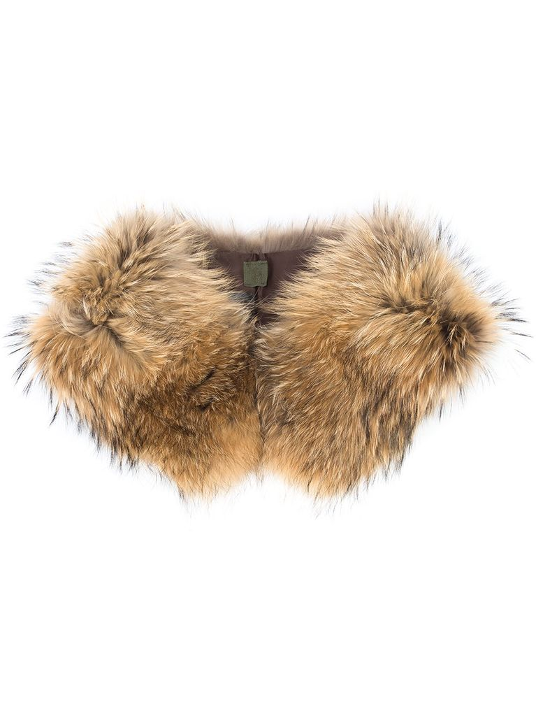 MR & MRS ITALY MR & MRS ITALY RACCOON FUR COLLAR