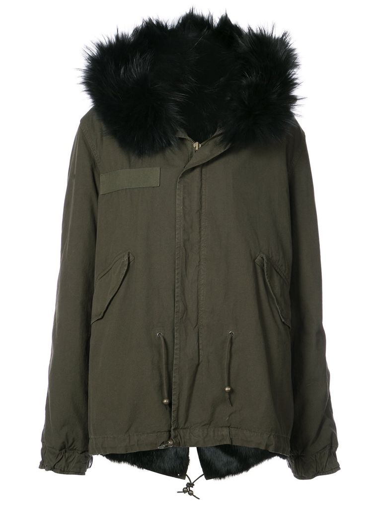 MR AND MRS ITALY MR AND MRS ITALY RABBIT FUR PARKA
