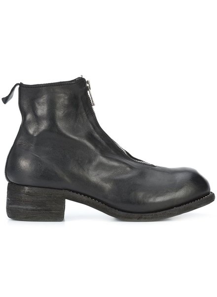 GUIDI GUIDI MEN HORSE LEATHER FRONT ZIP BOOT