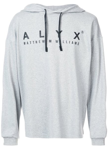 ALYX ALYX UNISEX HOODED LONG SLEEVE TEE