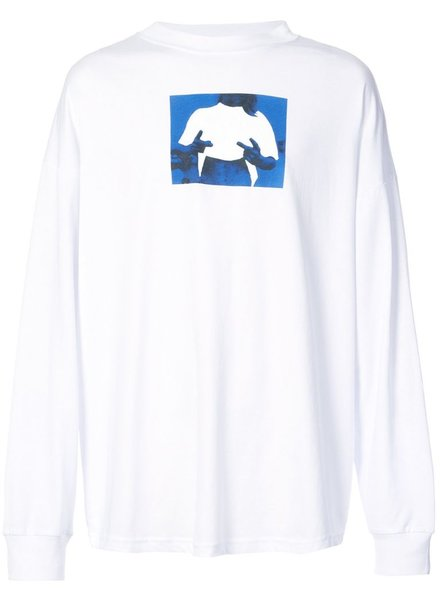 ALYX ALYX MEN PEACE SIGN LONG SLEEVE TEE