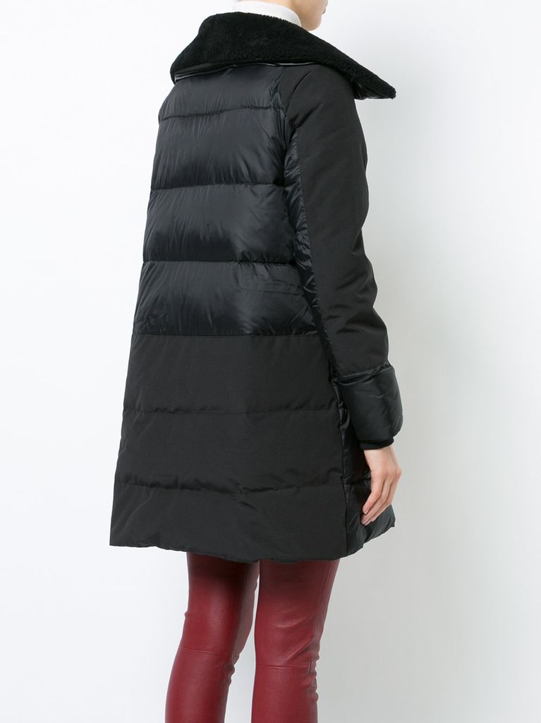 altona women Color block altona women's coats black zip fastening mpfwnji 452417 [mpfwnji] - description to keep warm when it's cold outside, you'll want to have this black coat.