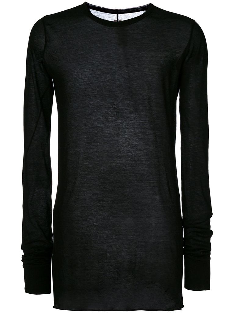RICK OWENS RICK OWENS MEN BASIC LONG SLEEVE T-SHIRT