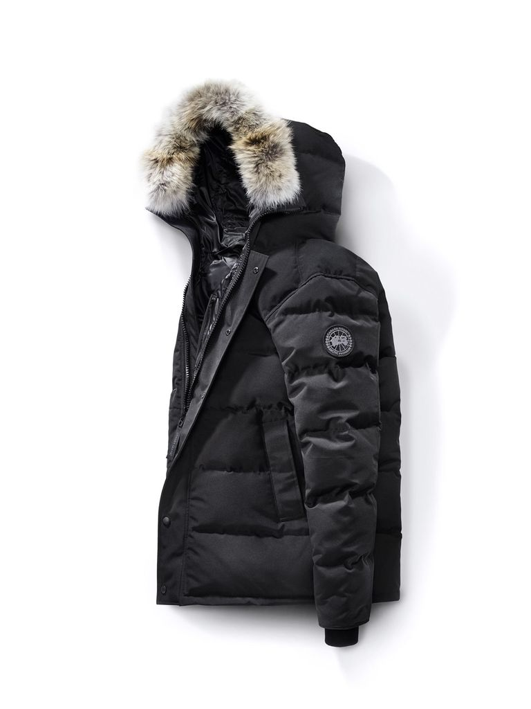canada goose black logo meaning