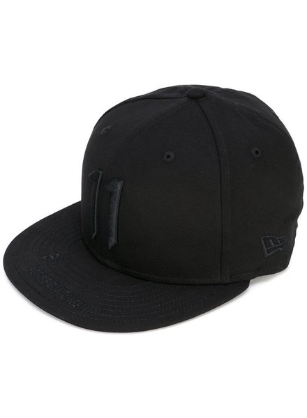 11 BY BORIS BIDJAN SABERI 11 BY BORIS BIDJAN SABERI BLACK LOGO NEW ERA CAP