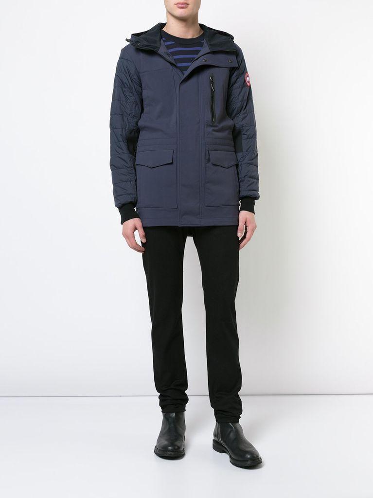 canada goose hooded jacket men's