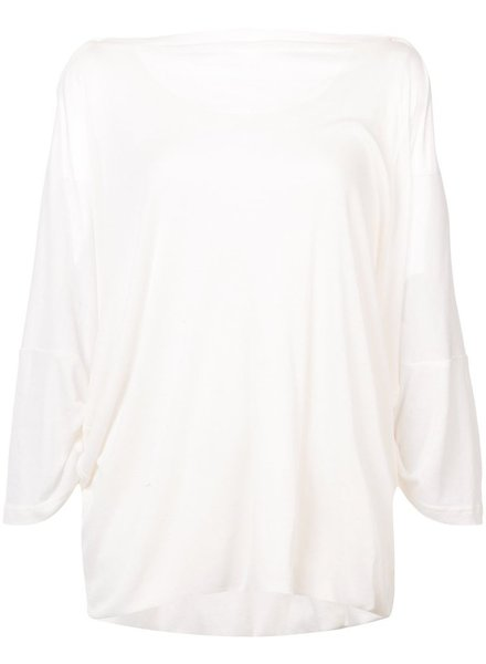 ANN DEMEULEMEESTER ANN DEMEULEMEESTER WOMEN DOUBLE LAYER CHIC TOP