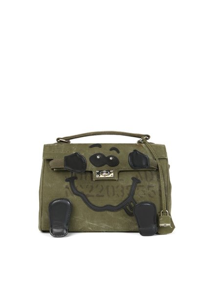 READYMADE READYMADE VINTAGE ARMY TENT MINI MONSTER BAG