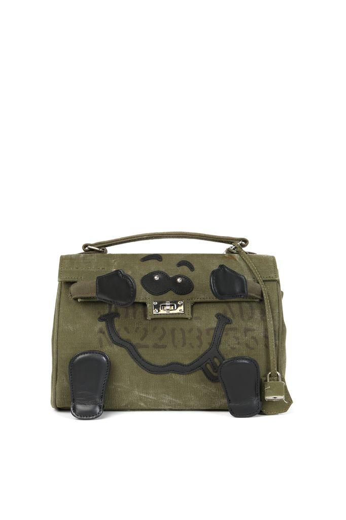READYMADE READYMADE VINTAGE ARMY TENT MINI MONSTER BAG