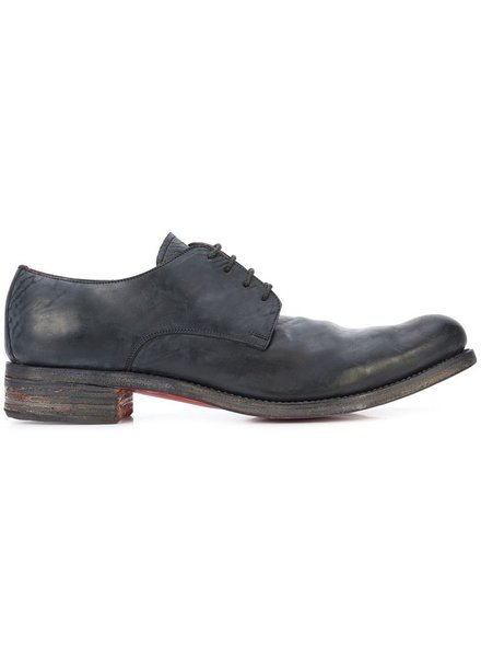 A DICIANNOVEVENTITRE A1923 MEN CORDOVAN DERBY WITH RED SOLE