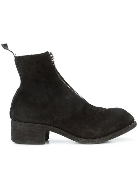 GUIDI PL1 GUIDI WOMEN REVERSED SOFT HORSE LEATHER FRONT ZIP BOOT