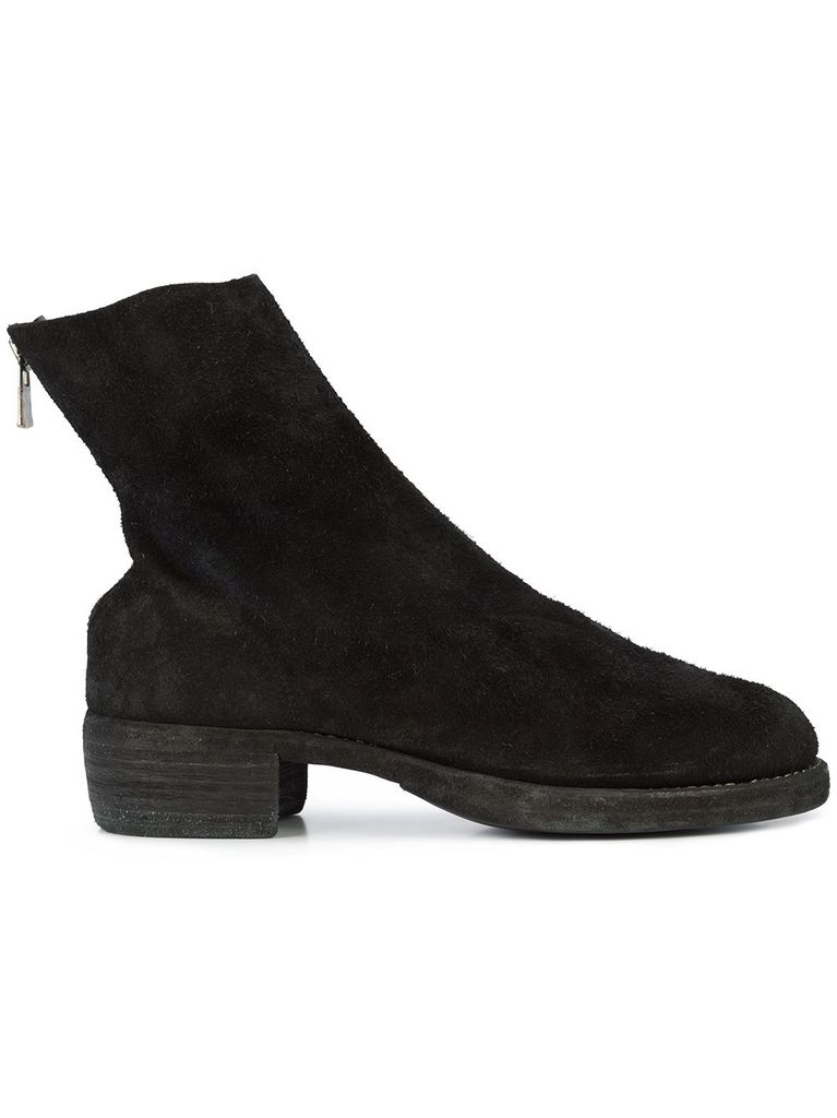GUIDI GUIDI MEN SHORT BACK ZIP BOOT