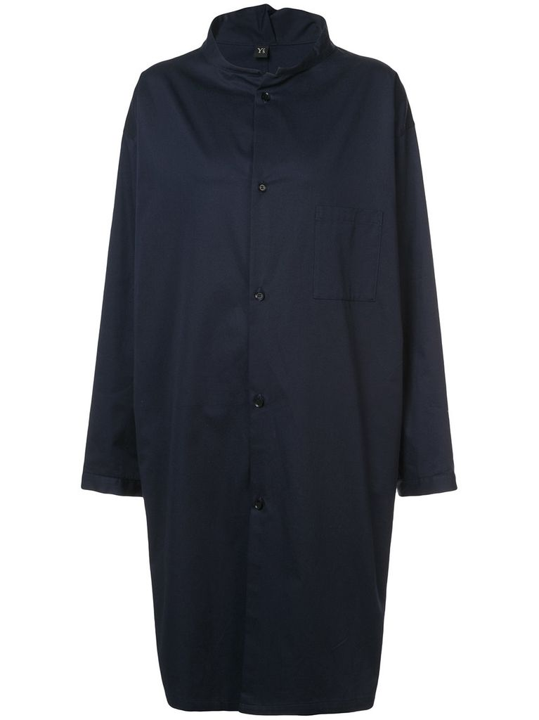 Y'S Y'S WOMEN OPEN COLLAR SHIRT